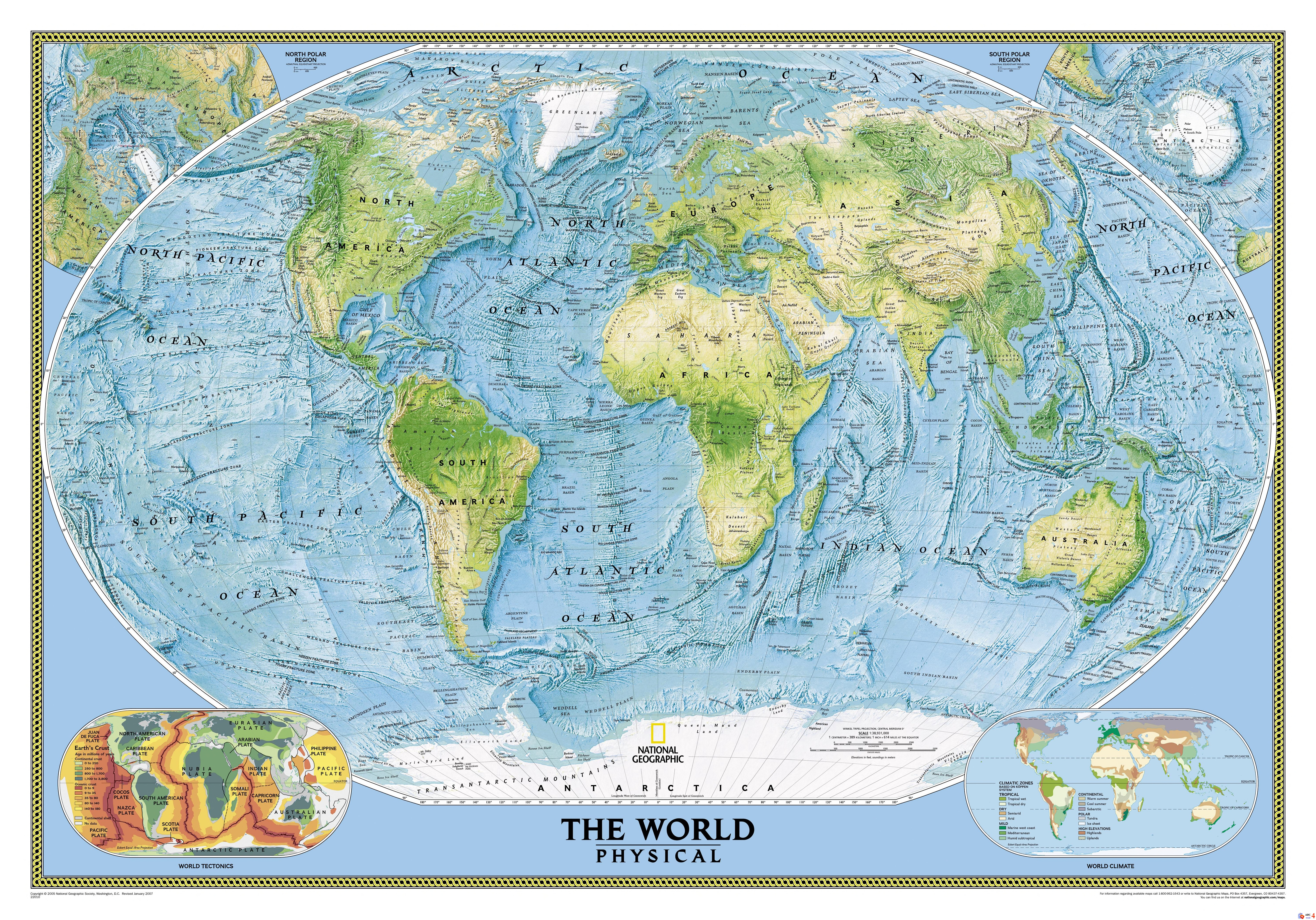 National Geographic – 8 ultra high resolutioned maps | Young and ...